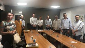 Prefeito Luiz Dalben participa de encontro com prefeitos da RMC sobre coronavírus