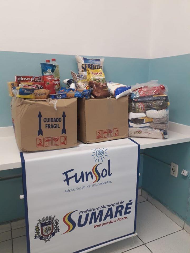 Sumaré faz Campanha Virtual de Arrecadação de Alimentos