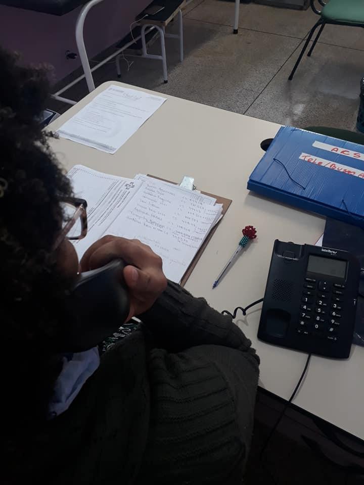 ESF Santa Clara faz atendimentos e orientação aos pacientes por telefone