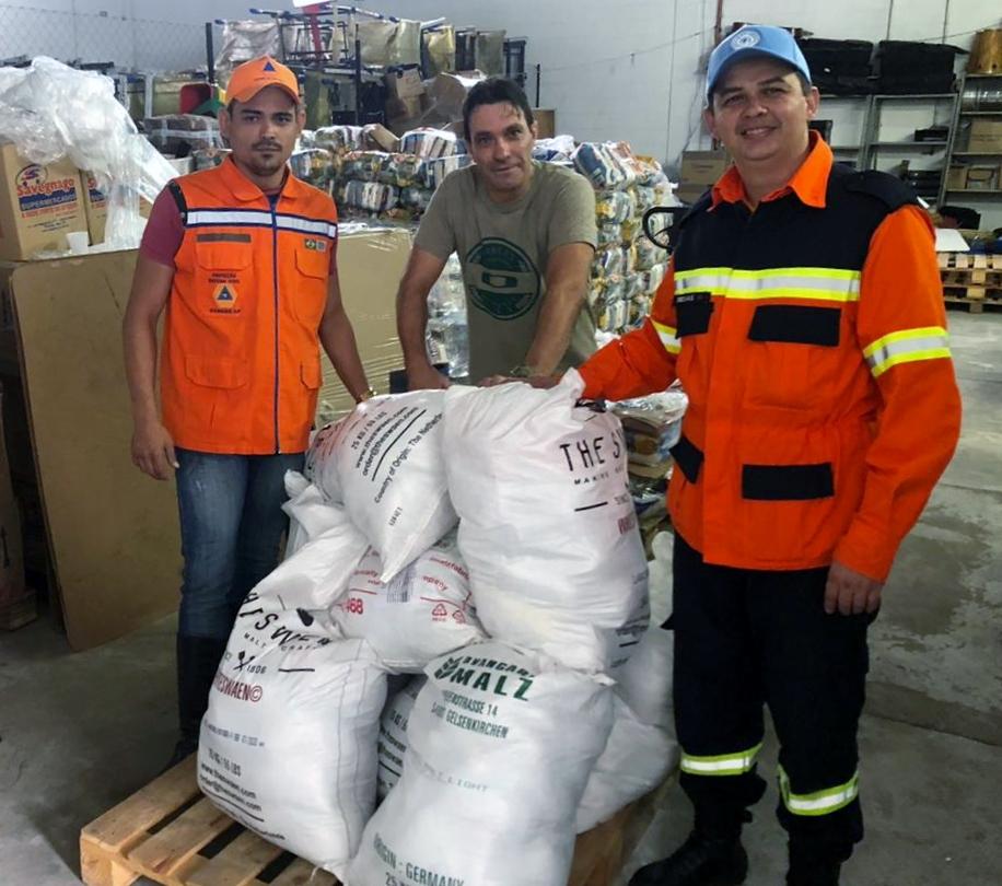 Fundo Social de Solidariedade recebe doação de mais 600 quilos de alimentos