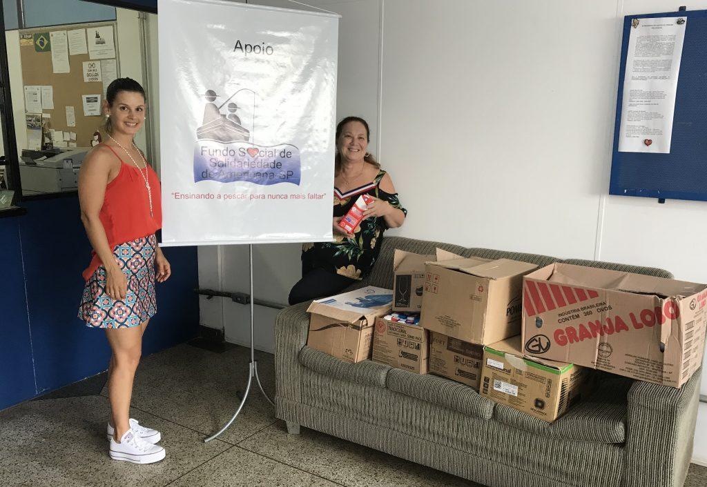 Americana: Fundo Social, secretarias municipais e população entregam kits