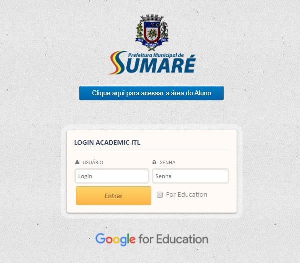 Alunos da Rede Municipal de Ensino de Sumaré já podem acessar novas tarefas escolares via sistema ITL