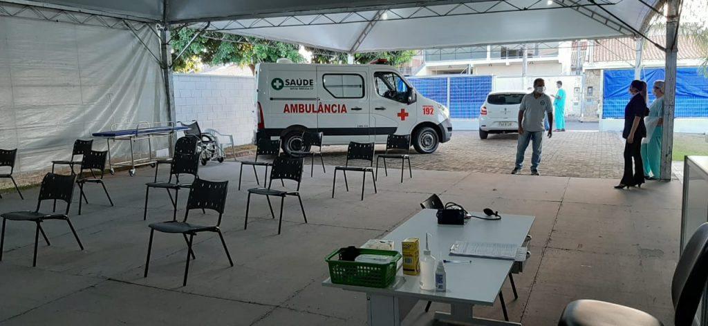 Unidade Respiratória de Nova Odessa faz 100 atendimentos em menos de uma semana