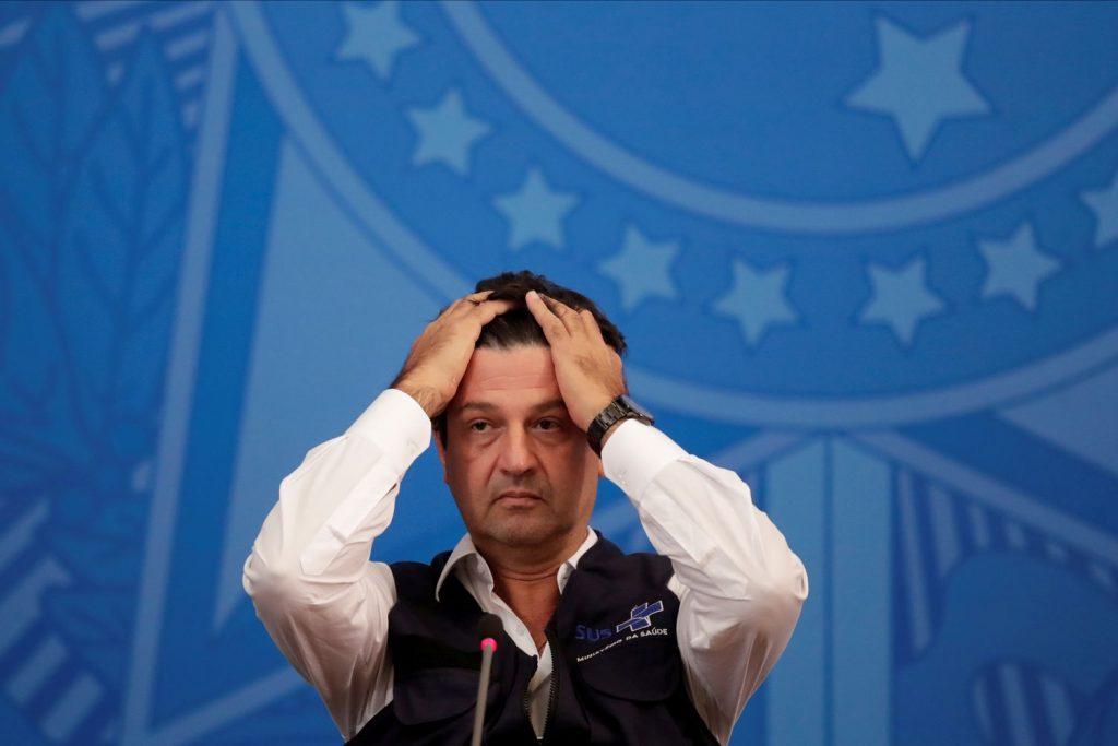 Mandetta avisa que foi demitido por Bolsonaro