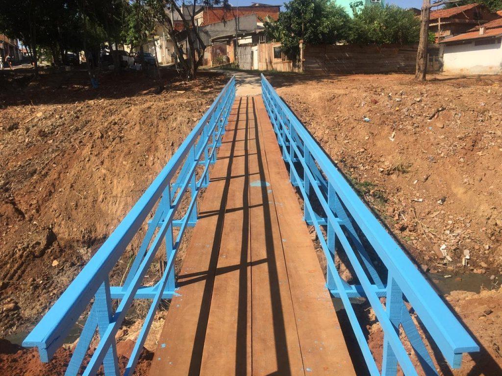 Avançam obras de melhorias na nova passagem do Jardim Conceição II