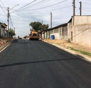 Prefeitura de Sumaré inicia pavimentação nos Jardins Davina e Vitória