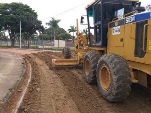 Prefeitura de Sumaré dá continuidade às obras de pavimento em via do Jardim Manchester