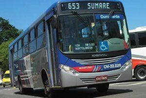 Ônibus metropolitanos de Hortolândia, Nova Odessa e Sumaré terão máscaras de proteção a partir de segunda-feira