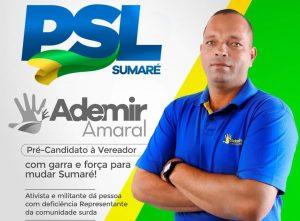 Eleições 2020 – Entrevista com Ademir Luiz Amaral, pré-candidato a Vereador de Sumaré