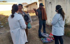 Saúde de Sumaré realiza vacinação contra Sarampo e testes rápidos para Covid-19 entre população em situação de rua