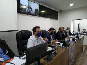 Prefeito Luiz Dalben, deputado Dirceu Dalben e vereadores se reúnem com autoridades para impedir a falta d'água em Sumaré