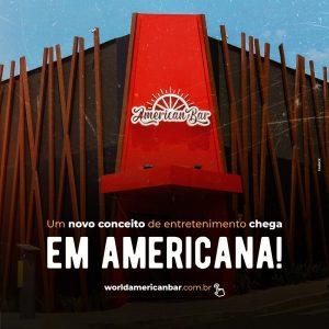 Novo conceito de entretenimento chega à Americana no dia 10 de novembro