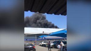 Incêndio atinge mercado atacadista HIGA em Campinas. Veja o vídeo