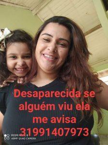 Família procura por Neila Cristina da cidade de Três Pontas desaparecida desde a manhã de ontem