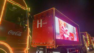 É hoje! Caravana Iluminada da Coca-Cola passa por Sumaré