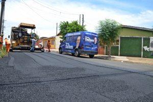 Emendas do Deputado Dirceu Dalben garantem asfalto novo em Sumaré