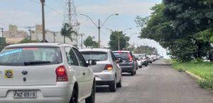 Carreata Fora Dória reúne cerca de 40 veículos em Americana