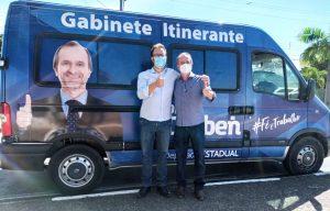 Deputado Dalben conquista ambulâncias e vans para a Saúde de Sumaré